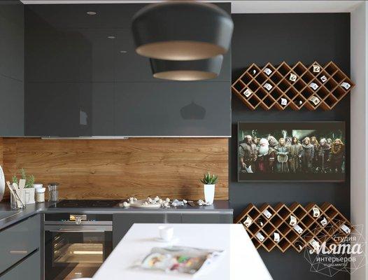 Дизайн интерьера однокомнатной квартиры Екатеринбург